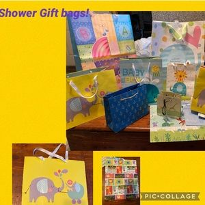 20-1 Baby Shower Gift Bags XL-Large -Medium -Small